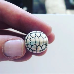 Mignon Faget (New Orleans) turtle shell ring